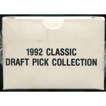 1992 Classic Draft Picks Four Sport Factory Set