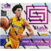 2017/18 Panini Status Basketball Hobby Box