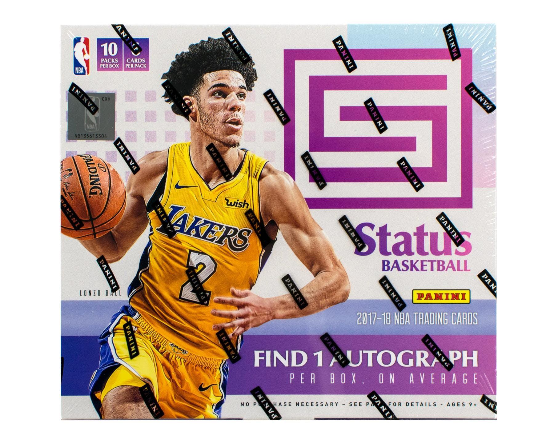 201718 Panini Status Basketball Hobby Box