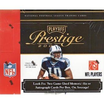 2007 Playoff Prestige Football Hobby Box