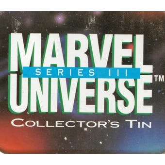 Marvel Universe Series 3 Factory Tin Set (1992 Impel)