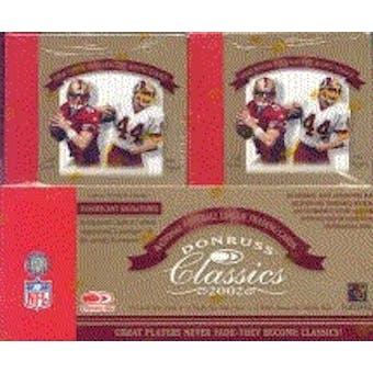2002 Donruss Classics Football Hobby Box