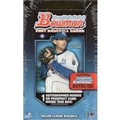 2007 Bowman Baseball Hobby Box