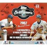2007 Topps Co-Signers Baseball Hobby Box