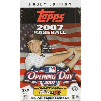 2007 Topps Opening Day Baseball Hobby Box