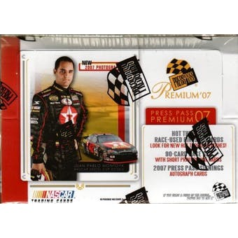 2007 Press Pass Premium Racing Hobby Box