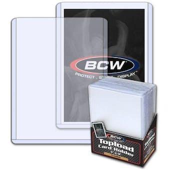 BCW 3x4 Premium Toploaders 25-Count Pack