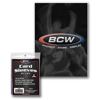 BCW Standard Card Sleeves (100 Count Pack)
