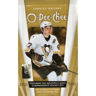 2006/07 Upper Deck O-Pee-Chee Hockey Hobby Box