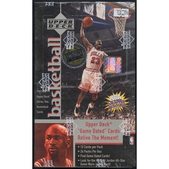 1997/98 Upper Deck Series 2 Basketball Hobby Box
