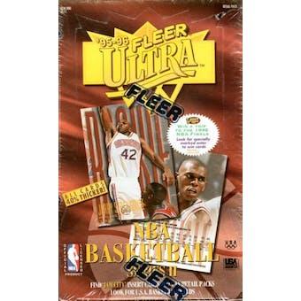 1995/96 Fleer Ultra Series 2 Basketball Retail Box