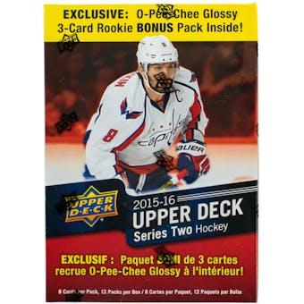 2015/16 Upper Deck Series 2 Hockey 12-Pack Mega Box