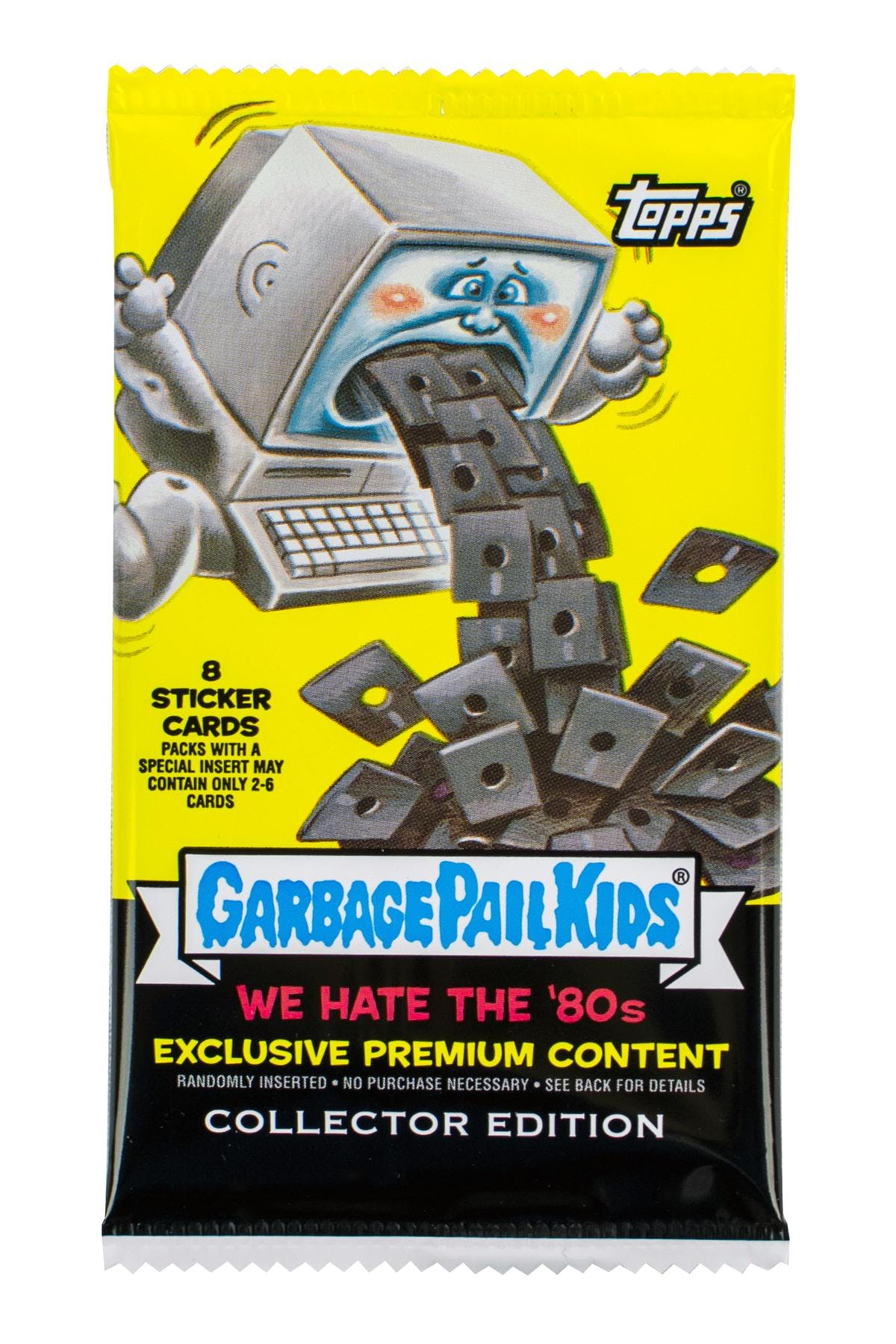 7333e8d1ad9 Garbage Pail Kids Series 1 We Hate The 80 s Collector Edition Pack ...