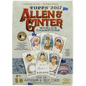 2017 Topps Allen & Ginter Baseball 8-Pack Box