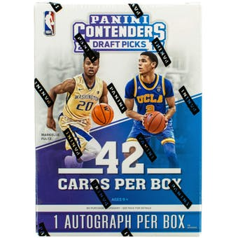 2017/18 Panini Contenders Draft Basketball 7-Pack Blaster Box