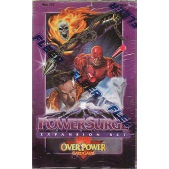 Marvel Over Power Power Surge Hobby Box (1995 Fleer)