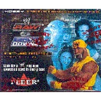 2004 Fleer WWF WWE Raw V.S. Smack Down! Wrestling Hobby Box