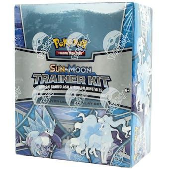 Pokemon Sun & Moon Trainer Kit - Alolan Sandslash & Alolan Ninetales 8-Kit Box