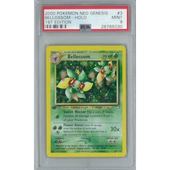 Pokemon Neo Genesis 1st Edition Bellossom 3/111 PSA 9