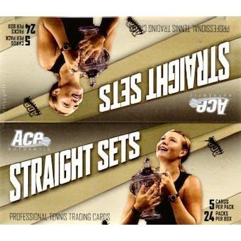 2007 ACE Straight Sets Tennis Hobby Box