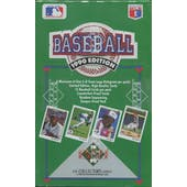 1990 Upper Deck Series 1 Low # Baseball Wax Box (Reed Buy)