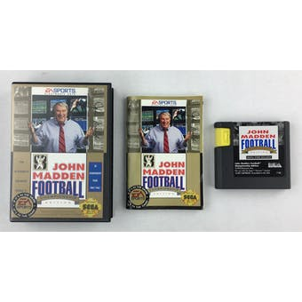 Sega Genesis John Madden Football '93 Championship Edition Boxed Complete