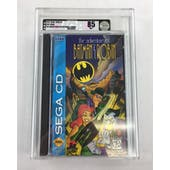 Sega CD The Adventures of Batman & Robin VGA 85 NM+ MINT Sealed