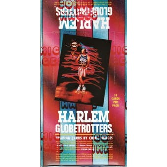 Harlem Globetrotters Basketball Hobby Box (1992 Comic Images)