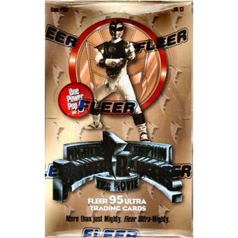 Power Rangers The Movie Hobby Box (1995 Fleer Ultra)