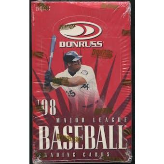 1998 Donruss Baseball 24 Pack Box