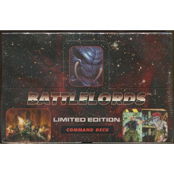 Battlelords Limited Edition Command Deck Box (1995 Upper Deck)
