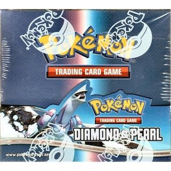 Pokemon Diamond & Pearl Base Booster Box