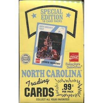 1989/90 Collegiate Collection North Carolina Special Edition Basketball Box
