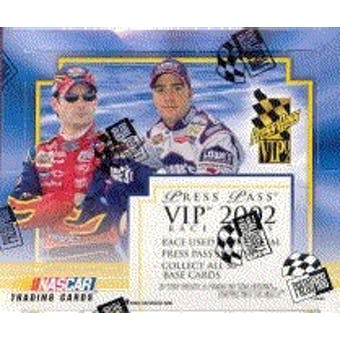 2002 Press Pass VIP Racing Hobby Box