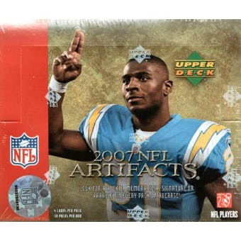 2007 Upper Deck Artifacts Football Hobby Box