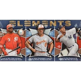 2007 Upper Deck Elements Baseball Hobby Box