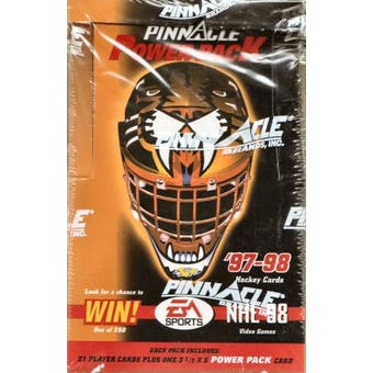 1997/98 Pinnacle Power Pack Hockey Box