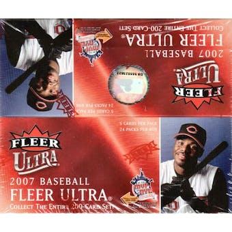 2007 Fleer Ultra Baseball 24-Pack Box