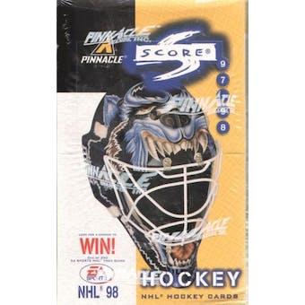 1997/98 Score Hockey 48 Pack Box