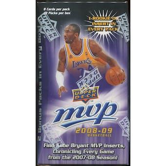 2008/09 Upper Deck MVP Basketball 12-Pack Blaster Box