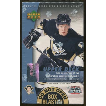 2005/06 Upper Deck Series 2 Hockey 8 Pack Box
