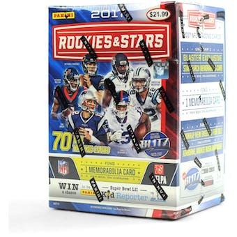 2017 Panini Rookies & Stars Football 7-Pack Blaster Box