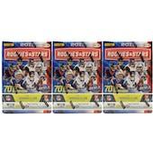 2017 Panini Rookies & Stars Football 7-Pack Blaster Box (Lot of 3)