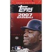 2007 Topps Series 2 Baseball Hobby Box