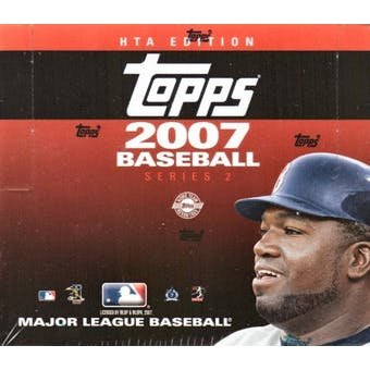 2007 Topps Series 2 Baseball Jumbo Box