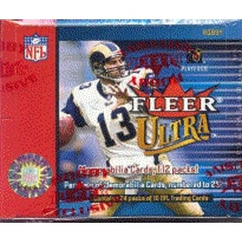 2002 Fleer Ultra Football Hobby Box