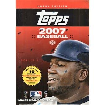2007 Topps Series 2 Baseball Rack Box