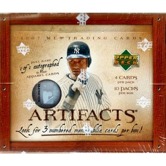 2007 Upper Deck Artifacts Baseball Hobby Box