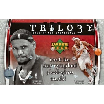 2006/07 Upper Deck Trilogy Basketball Hobby Box