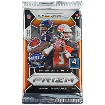 2017 Panini Prizm Football Retail Pack (Lot of 24)